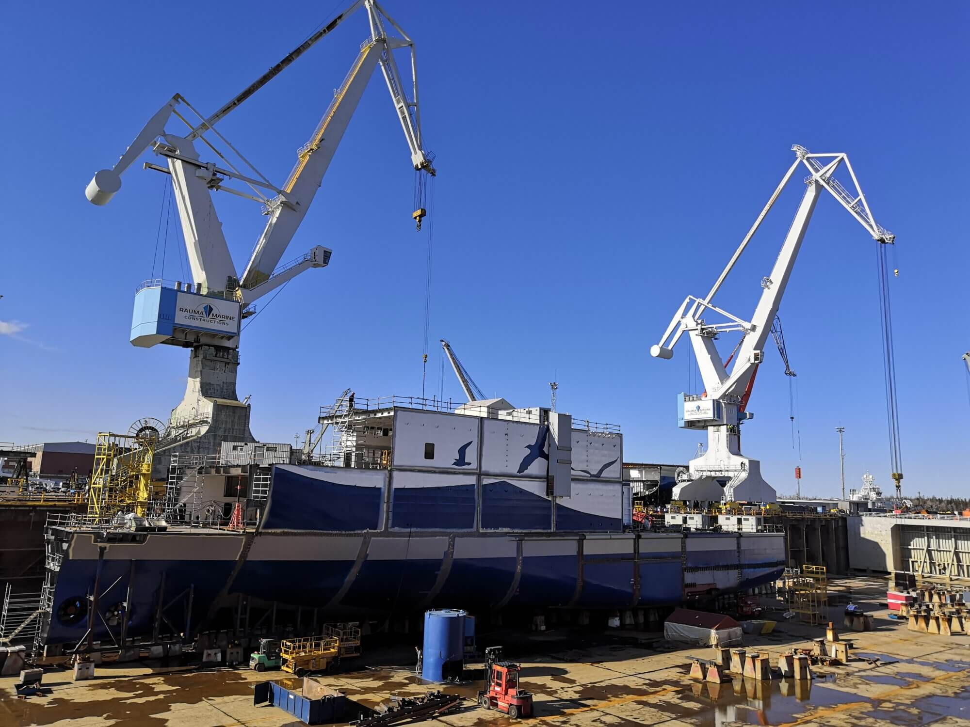Wasaline, Aurora Botnia - Rauma Marine Constructions
